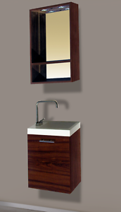 mobili bagno sospesi moderni per piccoli spazi 40x47x22 - Bagni Moderni Per Piccoli Spazi