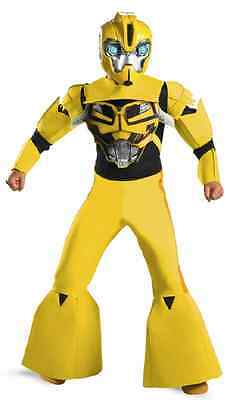 Bumblebee Transformers Prime Animated Fancy Dress Halloween Child Costume