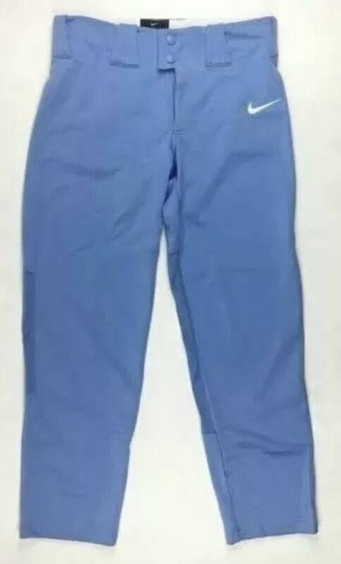 Nike Boy's Team Lt. Blue Long Baseball Pants Sz. BM NEW BQ6425-448
