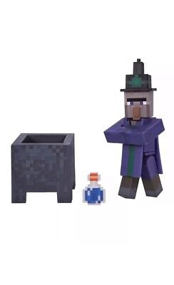 Minecraft Series 3 Witch Action Figure w/ Accessories New