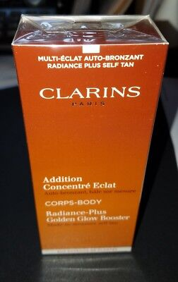 Clarins Radiance-Plus Golden Glow Booster Face & Body Self Tan 1 oz Full