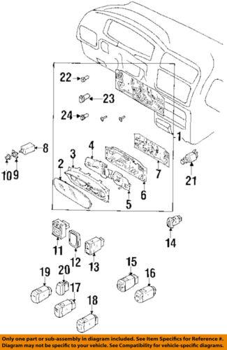 Car & Truck Parts : Lighting & Lamps : Instrument Panel