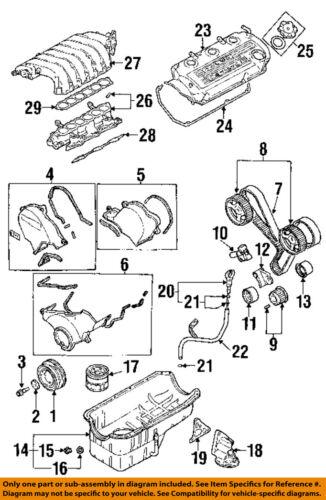 Details about Dodge CHRYSLER OEM 95-00 Stratus 2.5L-V6 Engine-Filter on