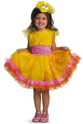 Frilly Big Bird Sesame Street Tutu Fancy Dress Halloween Toddler Child Costume