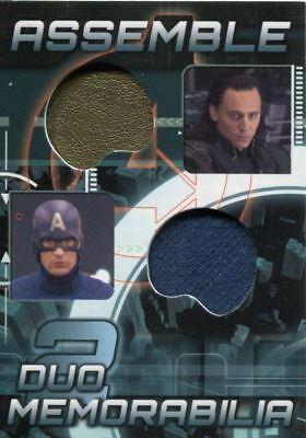 Avengers Assemble 2012 Duo Costume Memorabilia Card AD-23