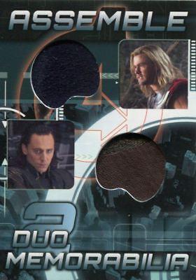 Avengers Assemble 2012 Duo Costume Memorabilia Card AD-22