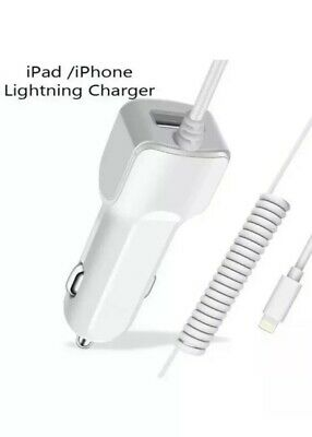 NEW White In Car Charger  for iPhone 11 /iPhone 11 Pro / iPhone Pro Max