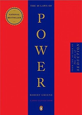 The 48 Laws of Power, by Robert Greene, Paperback 2000, New, Free Shipping