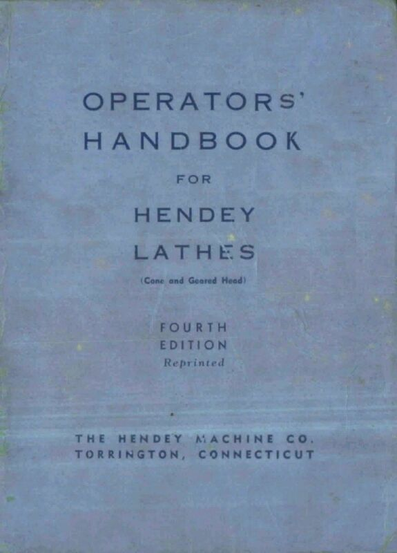 HENDEY Lathe /& Accessories Catalog Manual 74 pages 0358