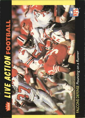 Action Football (1987 Fleer Team Action Football Cards 1-88 (A3217) - You Pick - 10+ FREE SHIP )