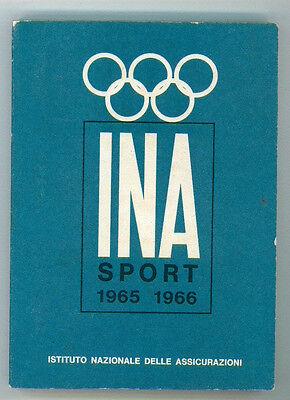 INA SPORT ANNUARIO 1965 - 1966