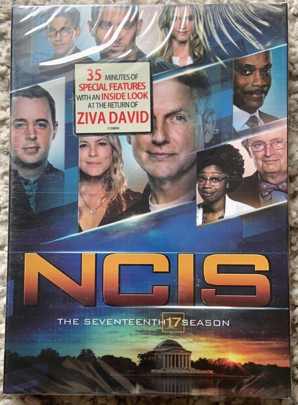 NCIS: Naval Criminal Investigative Service Season 17 ( DVD 5 Disc) New