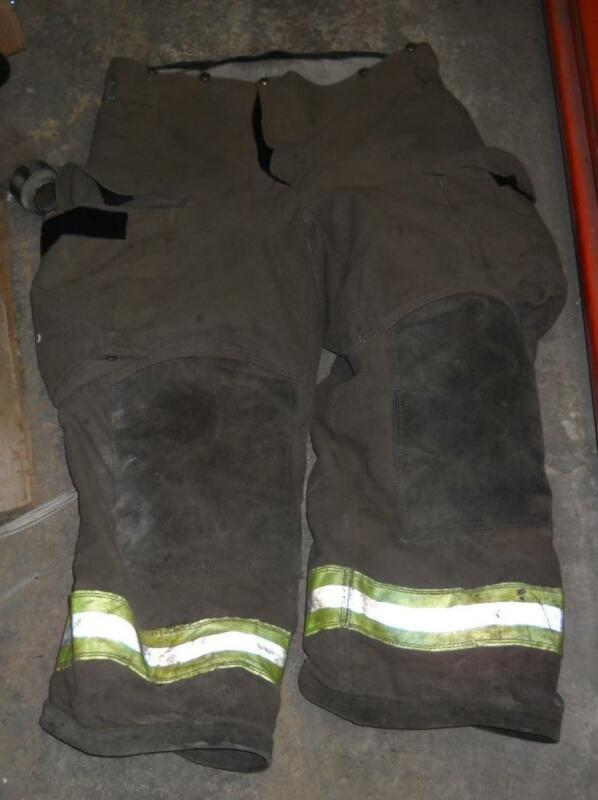 Janesville IsoDri Lion Turnout Pants Firemans Bunker Pants 38/28