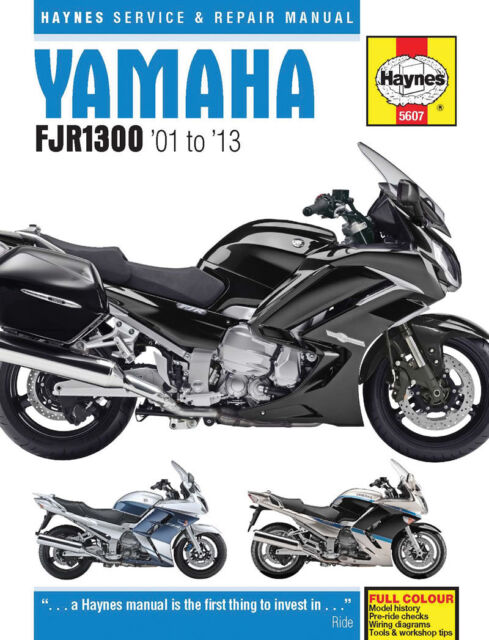 Haynes Manual 5607 - Yamaha FJR1300 (01 - 13) Workshop/Service/Repair