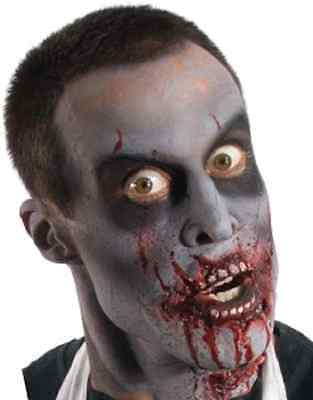 Blood Fest Zombie Mouth Fancy Dress Up Halloween Costume Makeup Latex Prosthetic - Halloween Zombie Mouth Makeup