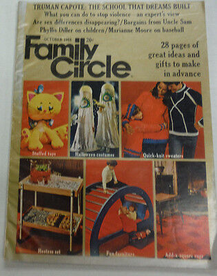Family Circle Magazine Halloween Costumes & Stuffed Toys October 1968 071015R2