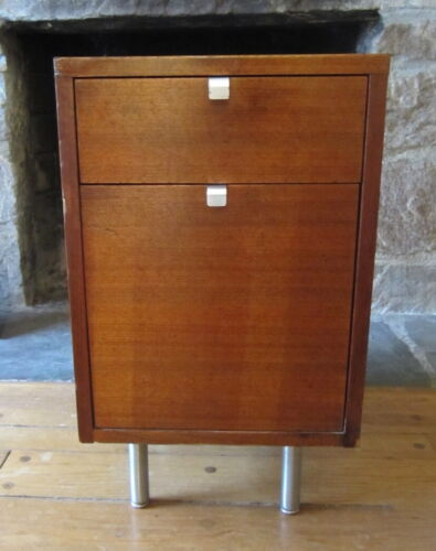 Mid Century Modern HERMAN MILLER GEORGE NELSON  End Side Table File Cabinet