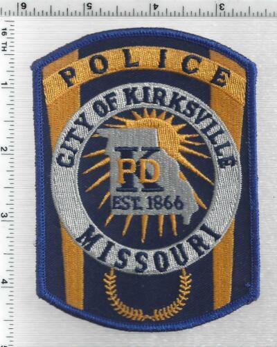 Kirksville Police (Missouri) 2nd Issue Shoulder Patch
