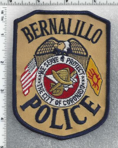 Bernalillo Police (New Mexico) 2nd Issue Shoulder Patch