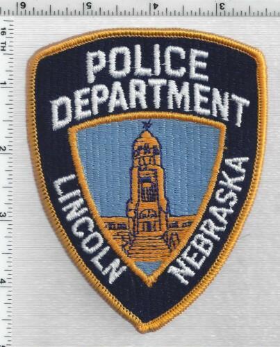 Lincoln Police (Nebraska) 3rd Issue Shoulder Patch