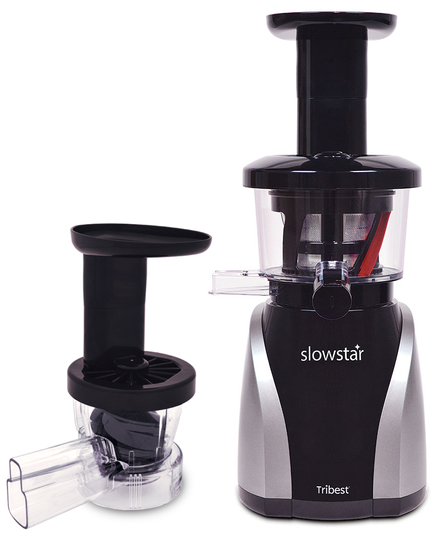 slowstar vertical 2 in 1 slow juicer