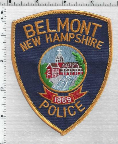 Belmont Police (New Hampshire) 2nd Issue Shoulder Patch
