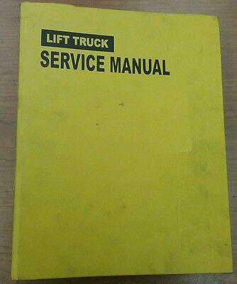 Heavy Equipment, Parts & Attachments HYSTER N30CA N40CA N50CA ...