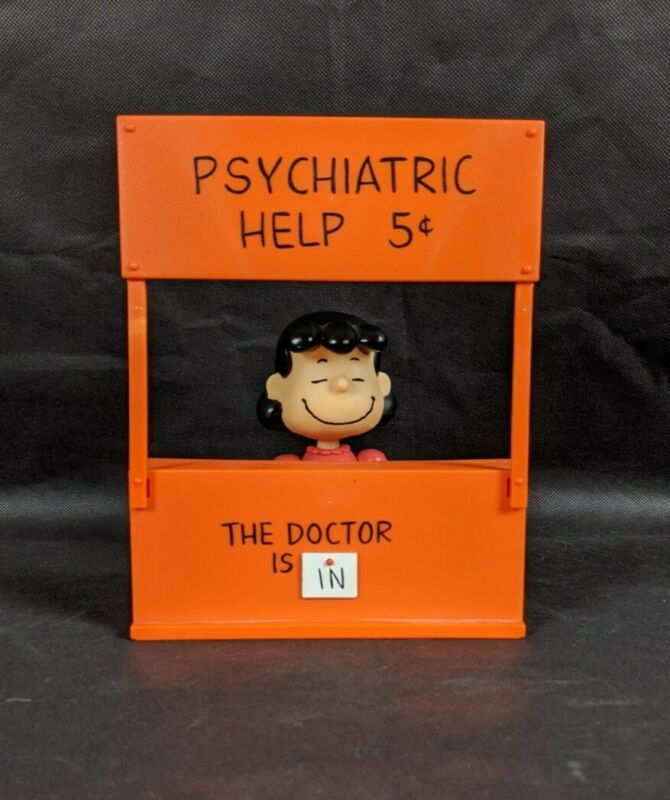Peanuts Psychiatric Booth Dr Lucy The Doctor Is In Phsyciatric Help 5c