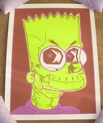 BRIAN EWING Art Print The Simpsons Milhouse Poster lithograph