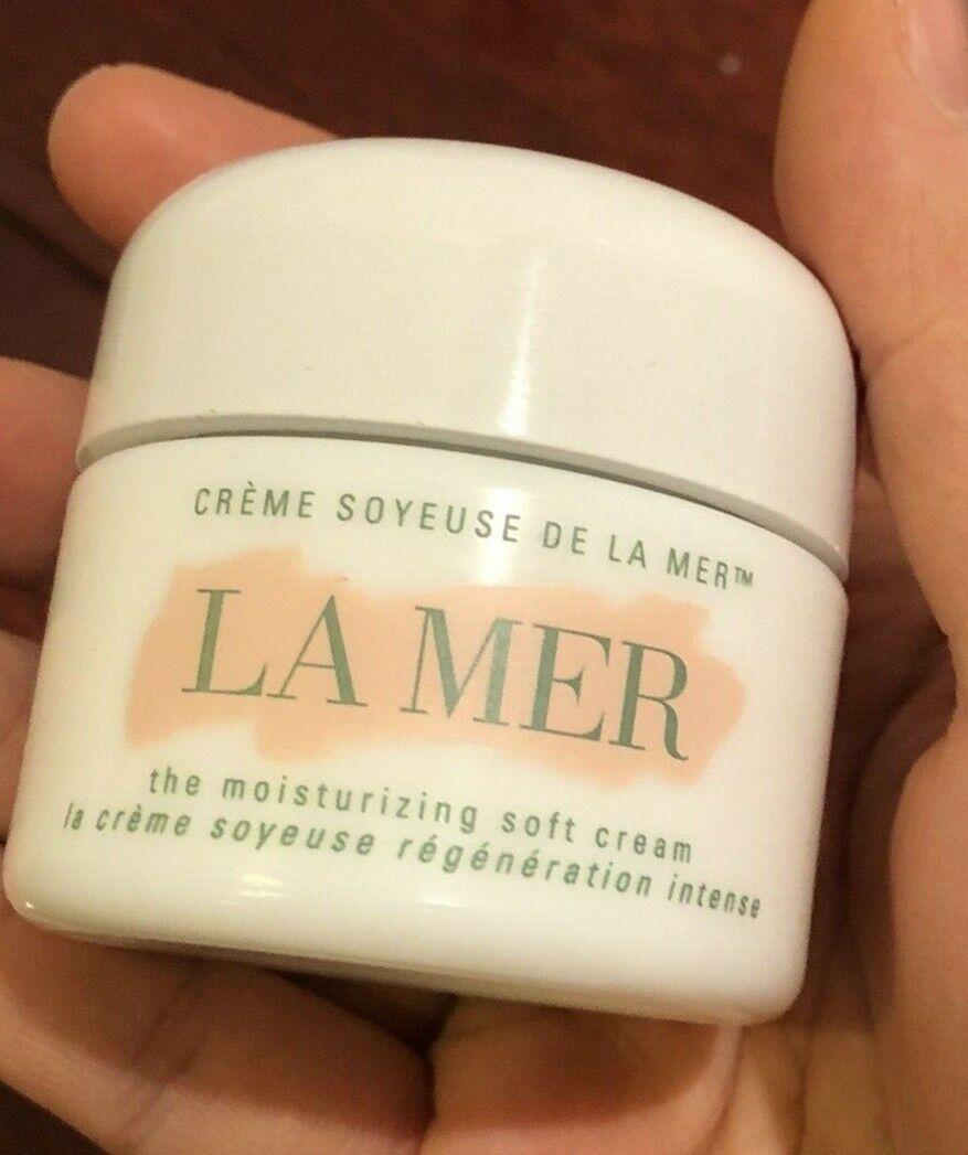 EMPTY Creme De LA MER Moisturizing Soft Cream Jar Spatula Box 1 Oz EMPTY JAR - $10.00