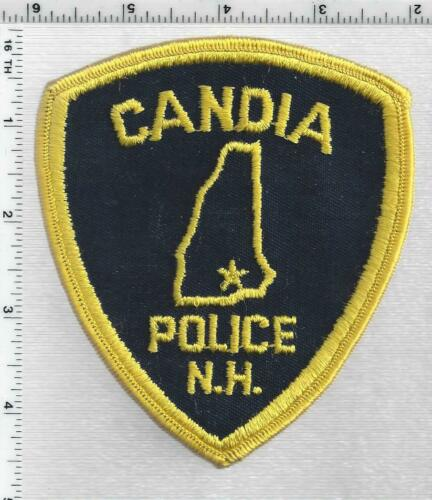 Candia Police (New Hampshire) 2nd Issue Shoulder Patch