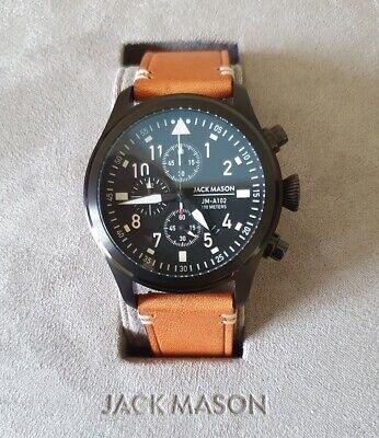 Pilot Watch - Jack Mason Persuit PVD Chrono