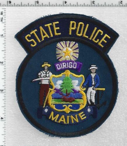 State Police (Maine) 5th Issue Shoulder Patch