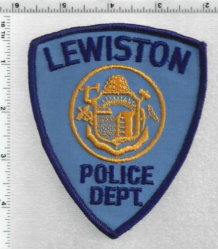 Lewiston Police (Maine) 2nd Issue Shoulder Patch