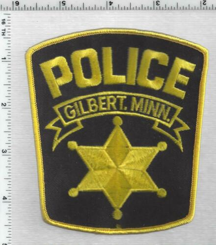 Gilbert Police (Minnesota) 1st Issue Shoulder Patch