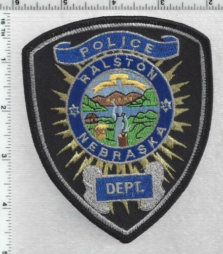 Ralston Police (Nebraska) 3rd Issue Shoulder Patch