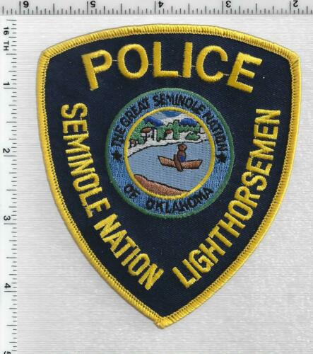 Seminole Nation Lighthorseman Police (Oklahoma) 2nd Issue Shoulder Patch