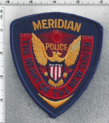 Meridian Police (Mississippi) 2nd Issue Shoulder Patch
