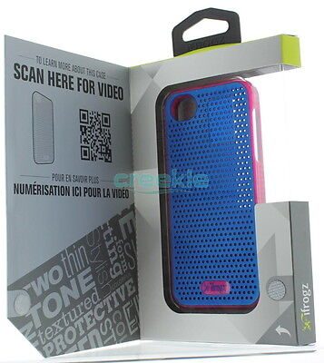Ifrogz Breeze Skin Case Cover For The Apple Iphone Se/5/5s - Blue And Pink