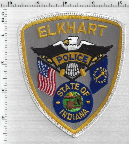 Elkhart Police (Indiana) 4th Issue Shoulder Patch