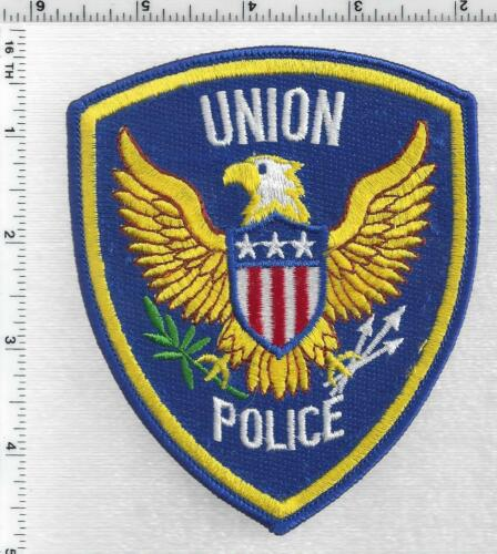 Union Police (Missouri) 1st Issue Shoulder Patch