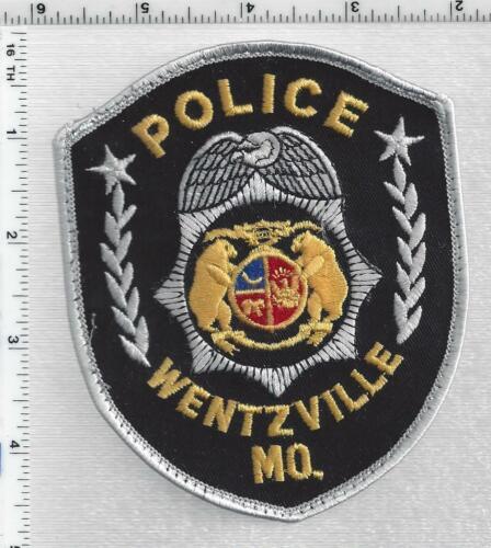 Wentzville Police (Missouri) 3rd Issue Uniform Take-Off Shoulder Patch