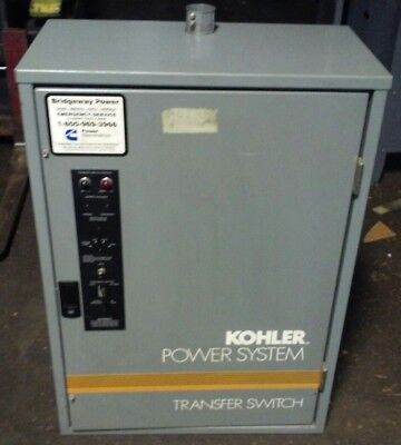 Kohler Power System Automatic Transfer Switch Gls-166341-0040 40a480v3ph60hz