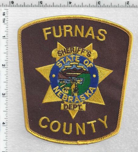 Furnas County Sheriff (Nebraska) 2nd Issue Shoulder Patch