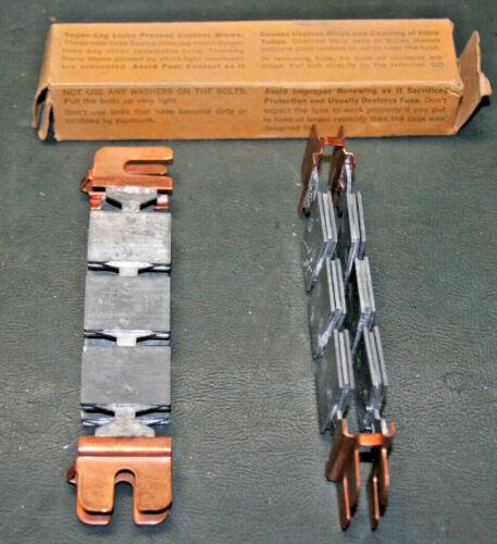 Bussmann Super-Lag® Renewal Fuse Links 600V 500A (LKS-500) LOT of 10 Links