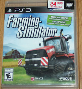 Jeu de PS3 Farming- Simulator