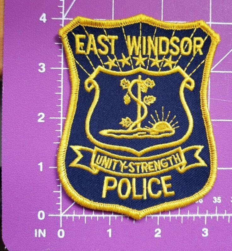 East Windsor Connecticut Police-shoulder patch