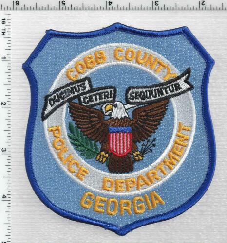 Cobb County Police (Georgia) 3rd Issue Shoulder Patch
