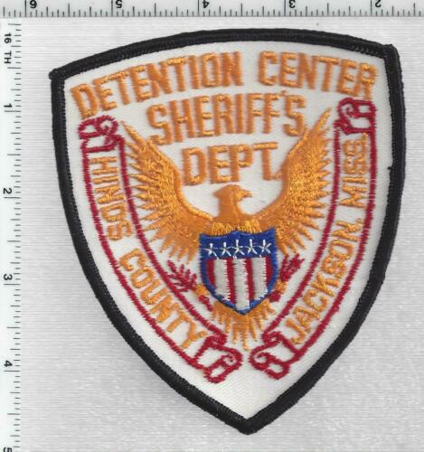 Hinds County Sheriff Detention (Mississippi) 2nd Issue Shoulder Patch