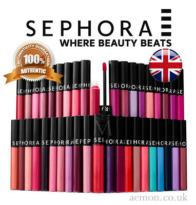 Lip Stain Gloss (Sephora Collection Cream lip stain last long gloss ORIGINAL 70 colours ORIGINAL!)